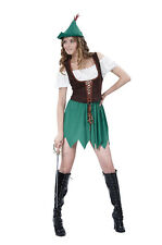 WOMEN ADULT #ROBIN HOOD BUDGET FOR FANCY DRESS COSTUME