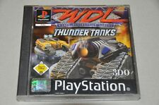 PlayStation 1 juego-WDL World Destruction League-Thunder tanques-completo ps1