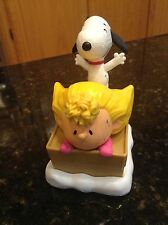 """2015 PEANUTS MCDONALD'S HAPPY MEAL TOY...#5...""""SALLY AND SNOOPY"""""""