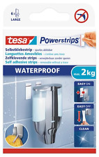 tesa 59700 Large Waterproof Removable Adhesive Powerstrips (6 Pieces)
