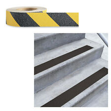 Low Vision Anti-Slip Adhesive Tape: Yellow and Black - 2 Inch Wide x 60 Feet