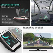 Car Safety Driving Navigation HUD Head UP Display Phone Bracket Support Holder
