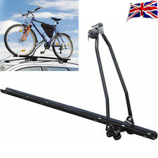 UNIVERSAL CAR STORE BICYCLE BIKE CARRIER LOCKING CYCLE RACK ROOF UPRIGHT MOUNTED