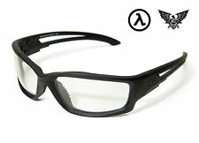 EDGE TACTICAL EYEWEAR BLADE RUNNER BLACK / CLEAR LENS