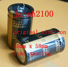 2pc Japan Nichicon 12000uF 71V Gold Audio capacitor NEW (D1)