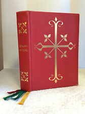 ROMAN MISSAL - 1964 Catholic MISSALE ROMANUM - English & Latin text, liturgy