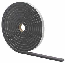 "NEW M-D 02113 GRAY FOAM WEATHER STRIPPING TAPE SELF ADHESIVE 1/2"" X 3/4"" 17 FT"
