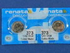 Renata  373 /  SR916SW    Batteries  Button Cell ,2Pc