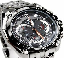 Imported Casio Edifice Chronograph Black Dial  Men's Watch  EF-550D-1AVDF