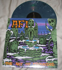"AFI 12"" GRAY Marble Color Vinyl LP THE ART OF DROWNING record album"