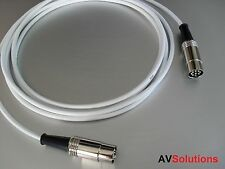 2 M. BeoLab Speaker Cable for Bang & Olufsen B&O PowerLink Mk2 (White,SHQ)