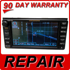 REPAIR SERVICE Toyota Navigation GPS E7007 Radio 4 CD Player DVD Drive stereo