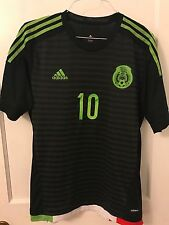 Adidas Mexico ADIZERO Dos Santos Player Match Soccer Jersey XL WC Qualifier