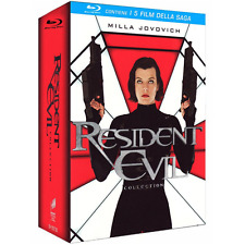 Cof *** RESIDENT EVIL - Collection (5 Blu-Ray Disc) *** sigillato