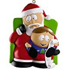 South Park Christmas list Santa Clause   2011 Carlton Cards Ornament new in box