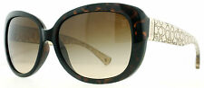 Coach HC8076 Laurin 5152/13 Havana Brown Gradient Women's Butterfly Sunglasses