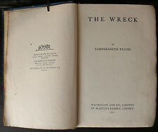 The Wreck by Rabindranath Tagore First UK Edition 1921