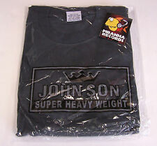 John Son Premium Quality Charcoal T-Shirt 3XL TALL 100% Cotton Piranha Records
