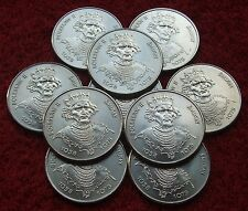 POLAND SET OF COINS PRL 50 ZL KING BOLESLAW II BOLD 1981 YEAR ONE PIECE LOT 1 PC