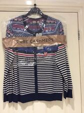 BNWT -  FAIR ISLE 100%  CASHMERE CARDIGAN - MARKS & SPENCER  - Size 16
