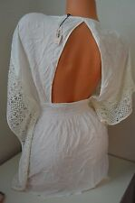 Victoria's Secret swimsuit bathing suit cover up L $80 crochet knit lace