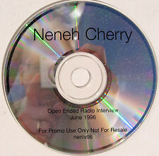 NEHEH CHERRY CD Open Ended Radio Interview 1996 UK PROMO ONLY Rare
