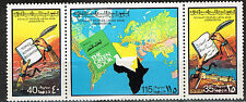 Libya World Map 1980 MNH