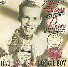 Wayne Raney- That Real Hot Boogie Boy (Ace 857 NEW CD)