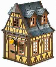 "Playmobil 7379 Vintage Yellow Framework House  - NEW Mint in sealed bag ""Steck"""