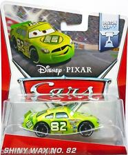 Disney Pixar Cars World Of Cars Shiny Wax No 82 Darren Leadfoot Piston Cup 1:55