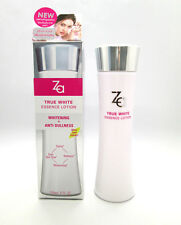 ZA True White Essence Lotion 3 in 1 Skin Brightening Whitening Anti Dullness NEW