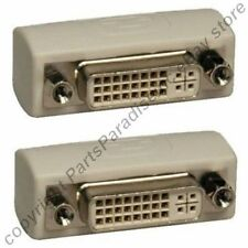 DVI-I/A/D,DVII,DVIA,DVID Female~F Gender Changer/Coupler Cable/Cord/Wire Joiner