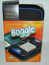 Boggle Game Folio Edition Parker Bros Hasbro Travel Electronic Timer Search