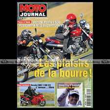 MOTO JOURNAL N°1344 HUSQVARNA 610 SUPERMOTARD HONDA 600 HORNET CBR 1100 XX 1998
