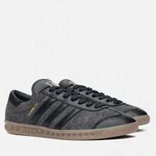 Adidas Original Hamburg ++RARE++ Wool Felt/Black Leather Mens 12.5 samba spezial