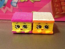 Shopkins Season 3 Lot Of 2 Nilla Slice
