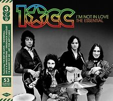 10CC I'M NOT IN LOVE THE ESSENTIAL 3CD ALBUM SET (September 23rd 2016)