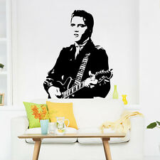 Playing Guitar Elvis Presley home decor vinyl Wall sticker wall decals removable