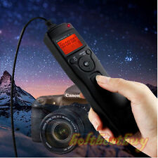 Timer Camera Remote Control Shutter Cable fr Canon EOS 1d,1ds,Mark II, III,