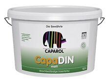 Caparol CapaDIN Farbe 12,5 Liter weiss - Profi-Produkt, lösemittelfrei -