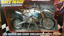 2002 TOY ZONE RACE IMAGE COLLECTIBLES 1/6 SCALE CHROME LBZ KX 250 KX250