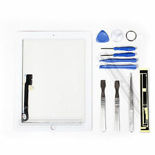 White For The NEW IPAD 3 iPad 4 3g Wifi Glass Digitizer Touch Screen Replacement