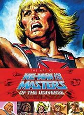 THE ART OF HE-MAN & THE MASTERS OF UNIVERSE Libro in Inglese NEW .cp