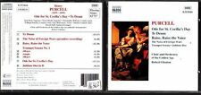 CD 1292  PURCELL ODE FOR ST CECILIA'S DAY