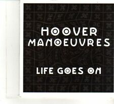 (DW209) Hoover Manoeuvres, Life Goes On - 2011 DJ CD