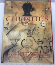 Christie's NY The Collection of Rene Gaffe for UNICEF Auction Catalog Nov 6 2001