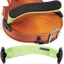 Everest Neon Green ES Series 3/4-1/2 Violin Adjustable Shoulder Rest