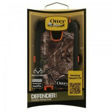 Otterbox Defender Camo Realtree Samsung Galaxy S4 S IV 4 Case Orange Xtra Blaze