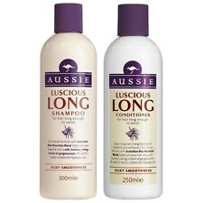 DUO Aussie Luscious LONG Shampoo 300ml + Conditioner 250ml