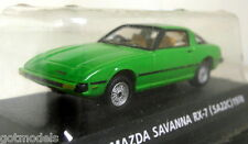 Konami 1/64 Scale Mazda Savanna RX-7 SA22C 1978 Green Tiny diecast model car